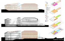 Museo Ebraico Meis Ferrara competition -goagroup